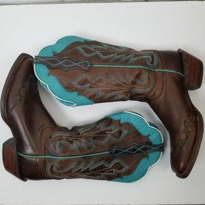 Ariat Caballera Western Boots Sz 9.5B